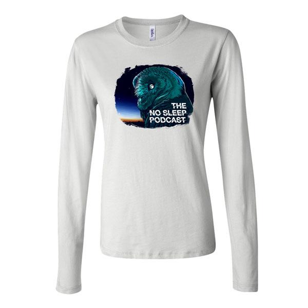 30694227919b61 OWL Ladies  Long Sleeve Jersey T-Shirt - The NoSleep Podcast