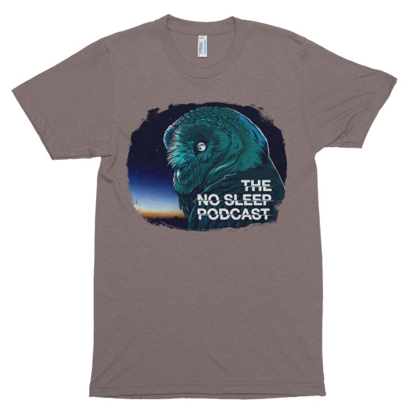 08c61d63a937eb OWL Short Sleeve Tri-Blend T-Shirt - The NoSleep Podcast