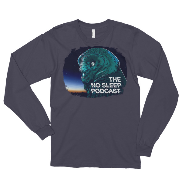 10663b60aabefc OWL Long sleeve t-shirt (unisex) - The NoSleep Podcast