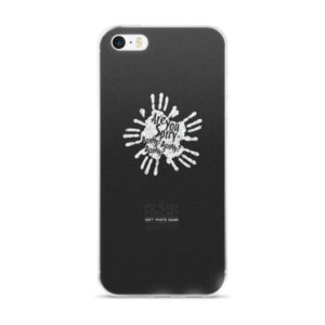 SOFT WHITE DAMN iPhone case
