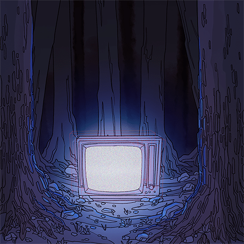The TV in the Woods