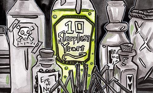 10th Anniversary illustration
